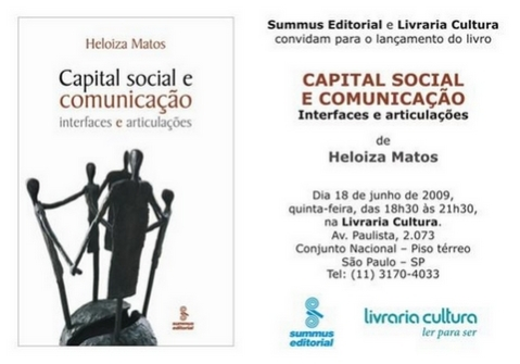Capital Social e Comunicação - Interfaces e Articulações (Heloiza Matos, Summus Editorial)